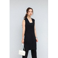 【AZUL by moussy】ノースリーブニットベスト AZUL by moussy / アズール バイ マウジー【MARKDOWN】