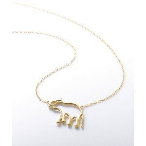 <Borneo Project> Christel Vie EnsemblexR ethical jewely エレファントネックレス(CVEREJ02ELE) アクセサリー~~ネックレス...