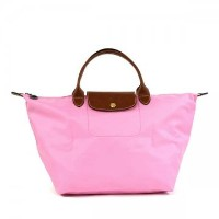 LONGCHAMP ロンシャン1623 089 058 ピンクLE PLIAGE トートバッグ【】【新品・未使用・正規品】