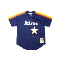 MITCHELL&NESS AUTHENTIC MESH BP JERSEY (HOUSTON ASTROS 1988/NOLAN RYAN/No.34: NAVY)ミッチェル&ネス...
