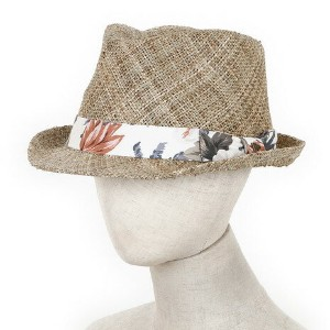 ニューエラ(NEW ERA) TRILBY SEA GRASS BAN 11321402 メンズハット (Men's)