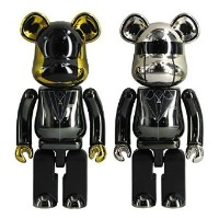 超合金 ベアブリック ダフトパンク BE@RBRICK DAFT PUNK(Random Access Memories Ver.)2PACK