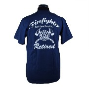 Retired Firefighter, Been There Done Tha 消防Tシャツ SH