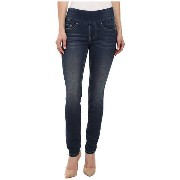 Jag Jeans パンツ Petite Petite Nora Skinny Knit Denim in Forever Blue