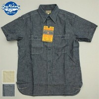 BUZZ RICKSON'S(バズリクソン) S/S CHAMBRAY WORK SHIRT [2色][BR35856] [BR35857]
