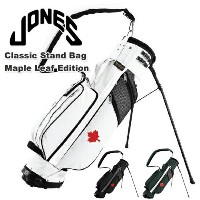 JONES GOLF(ジョーンズゴルフ)Classic Stand Bag Maple Leaf Edition Jonesスタンドバッグ