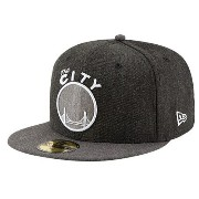 ニューエラ メンズ バスケットボール 帽子 キャップ【New Era NBA 59Fifty Heather Action Cap】Black Heather/Graphite Heather