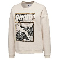 プーマ PUMA X CAREAUX CREW SWEAT ウィメンズ Birch Heather