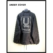 M 黒 A.BLACK【UNDER COVER アンダーカバー MADSTORE限定 Uコーチジャケット UNDERCOVER RECORDS】
