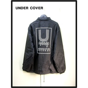 L 黒 A.BLACK【UNDER COVER アンダーカバー MADSTORE限定 Uコーチジャケット UNDERCOVER RECORDS】