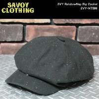 SAVOY CLOTHINGサヴォイクロージング◆SVY RainbowNep Big Casket◆SVY-HT086
