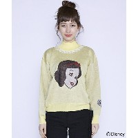 【Little sunny bite(リトルサニーバイト)】LSB-LKTOP-038F-Disney ★ little sunny bite : snow white knit top
