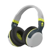 Skullcandy(スカルキャンディー) HESH 2 OVER-EAR WIRELESS LIGHT GRAY/DARK GRAY/HOT LIME【S6HBGY-384】スカルキャンディのBlu...