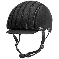 【現品特価】カレラ Foldable Crit WP Helmet Black Waxed(91G)