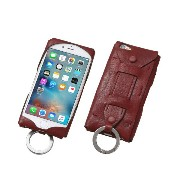 DCS-IP6SJG-RD【税込】 ディーフ iPhone 6/6s用 ベースボールグローブレザーケース(レッド) Baseball Gloves Leather Case for iPhone...