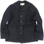 WILLIAM GIBSON (ウィリアムギブソン)Black Denim Work Jacket[BR13662]【送料無料】