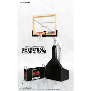 ENTERBAY 1/9 SCALE MOTION MASTERPIECE COLLECTIBLE FIGURE NBA COLLETION BASKETBALL HOOP & RACK ...