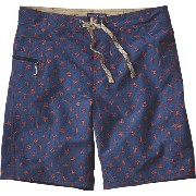 パタゴニア Patagonia メンズ 水着 ボトムのみ【Printed Wavefarer Board Short】Scorpo/Navy Blue