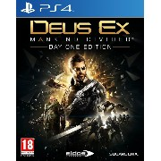 Deus Ex: Mankind Divided Day One Edition (PS4) (輸入版)