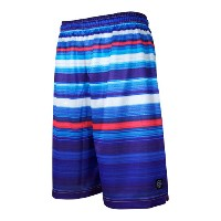 HXB バスパン【MESH SHORTS】HYPER GRADATION BLUE