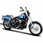 1/12 H-D Motorcycles - Dyna Super Glide Sport(メタリックブルー)【MS32321】 【税込】 Maisto [MS32321 H-D Motorcycle...