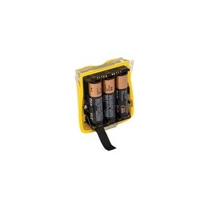 BW Technologies QT-バット-A01 Alkaline バッテリー パック with Batteries, イエロー 「汎用品」(海外取寄せ品)