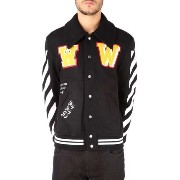 Off-White(オフホワイト)☆PATCHES VARSITY☆2色あり Off-White(オフホワイト) バイマ BUYMA