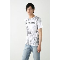 【AZUL by moussy】タイダイ柄ptクルーネック半袖T AZUL by moussy / アズール バイ マウジー【MARKDOWN】
