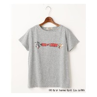 TOM&JERRYロゴTシャツ【ダブルネーム/DOUBLE NAME Tシャツ・カットソー】