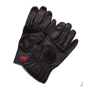 【LOSER MACHINE】ルーザーマシーン【Death Grip Leather Gloves】Black Ssize【レザーグローブ】グローブ【手袋】バイカー【CHOPPER】チョッパー