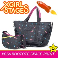 X-girl stages ルートート エックスガール ステージス マザーズバッグ 2way 軽量 マミールー