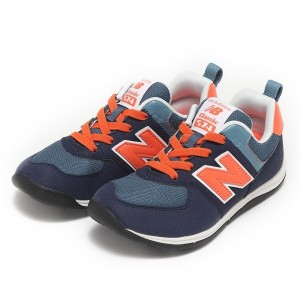 キッズ 【NEW BALANCE】 ニューバランス KS574(17-20) 16FW BLACKISH(BOP)
