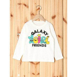【SALE/35%OFF】X-girl Stages L/S TEE GALAXY FRIENDS(4T~7T) エックスガールステージス カットソー【RBA_S】【RBA_E】