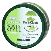 Garnier Fructis Style Pure Clean Finishing Paste, 59 ml (Pack of 6) (並行輸入品)