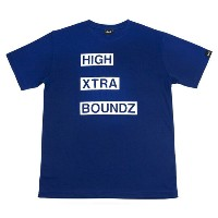 HXB 【BAR LOGO DRY T-SHIRT】 NAVY
