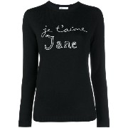 Bella Freud Je t'aime Jane Jumper