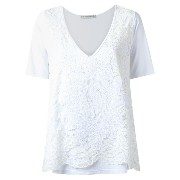 Martha Medeiros lace top