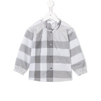 Burberry Kids Marelle チェック柄 ブラウス