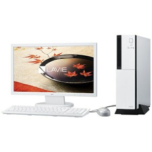 【送料無料】 NEC 19.5型デスクトップPC [Office付き・Win10 Home・Core i3・HDD 1TB・メモリ 4GB] LAVIE Desk Tower DT150/FAW...