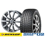ダンロップ WINTER MAXX WM02 195/60R15ZACK JP110 15インチSET