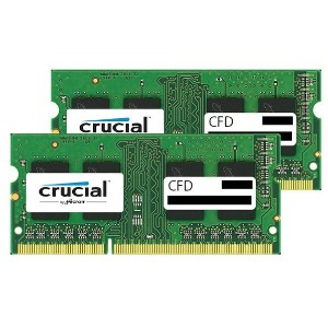 CFD DDR3L-1600対応 ノートPC用メモリ 204pin SO-DIMM(2GB×2枚組) CFD Selection Crucial by Micron W3N1600CM-2G ...