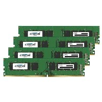 【送料無料】CFD DDR4-2400対応 デスクトップPC用メモリ 288pin DIMM(16GB×4枚組) CFD Selection Crucial by Micron Q4U2400CM...