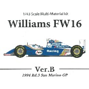 スポンサーデカールセット Williams FW16 San Marino GP Ver.B【MFH k536 1/43】