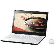 NEC 15.6型ノートPC LAVIE Note Standard NS350/FA PC−NS350FAW (ホワイト)【送料無料】
