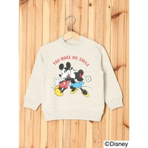 【SALE/40%OFF】X-girl Stages DISNEY/CREWNECK SWEAT SMILE(12M~3T) エックスガールステージス カットソー【RBA_S】【RBA_E】...