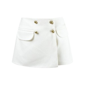 Andrea Bogosian - pocket skorts - women - コットン/ビスコース - M