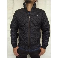 "G-STAR RAW[ジースター]【MEEFIC QUILTED OVERSHIRT L/S】""MYROW NYLON CF""""ナイロンキルティング""ジップアップJACKET★BLACK..."