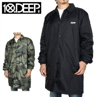 【SALE 25%OFF】10DEEP 10ディープ コーチジャケット SOUND/FRY COACHES TRENCH 63TD0603