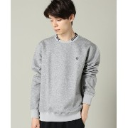 【FRED PERRY】tipped trim sweat【アイボリー コート/ivory court Tシャツ・カットソー】