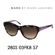 【OUTLET★SALE】マークバイマークジェイコブス サングラス MMJ-280S KB 57 MARC BY MARCJACOBS